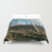 trippy Duvet Covers featuring trippy by ghostchesters
