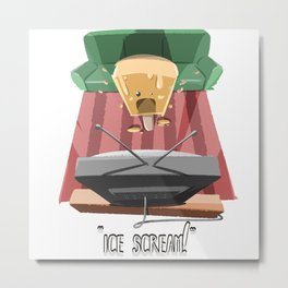 Ice Scream! Metal Print