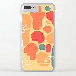 Secret Menu Clear iPhone Case