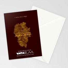 """Vaca - MP: """"Jogo das Cordas"""". Stationery Cards"""