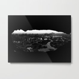 Hole in the Rock Metal Print