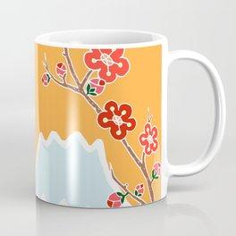 Mount Fuji and Sun Rise Coffee Mug