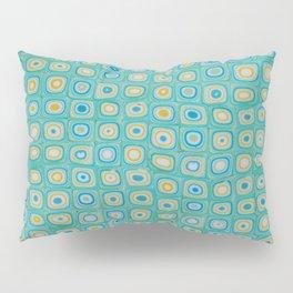 Yellow Blue Pillow Sham