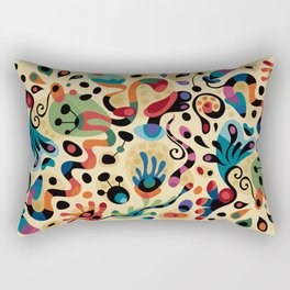 Wobbly Life Rectangular Pillow