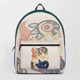 Aquarius - Abstract Zodiac Sign Backpack