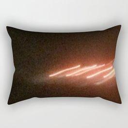 Abstracte Light Art in the Dark Version 23 Rectangular Pillow