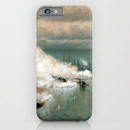 Battle Of Mobile Bay -- Civil War iPhone Case