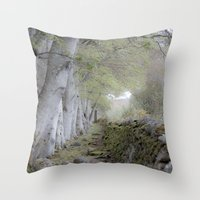 outlander Throw Pillows featuring The magic between by KClark Photography
