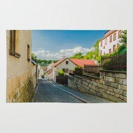 A street in Turnov Rug