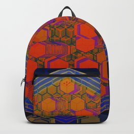 Bees Tree in the Smart City / Organic Hexagon Backpack
