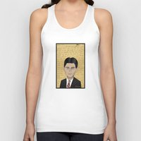 kafka Tank Tops featuring Kafka by Pendientera