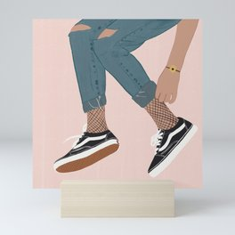 Vans Lover Mini Art Print