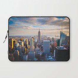 New York City at Sunset Laptop Sleeve