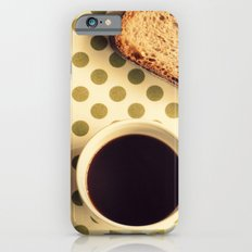 Black Coffee iPhone 6s Slim Case