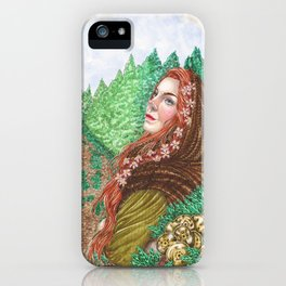 Iduna and the golden apples iPhone Case
