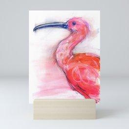 The Scarlet Ibis Mini Art Print