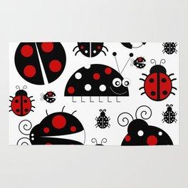 Ladybirds Rug