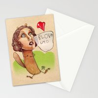 i love you... Stationery Cards