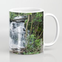Wagner Falls, Munising, Michigan Coffee Mug