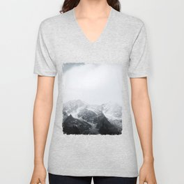 Morning in the Mountains - Nature Photography Unisex V-Neck