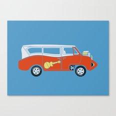 The  Monkeemobile Van Canvas Print