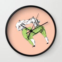 The Brawl Wall Clock