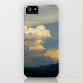 LH Mt. Clouds iPhone Case