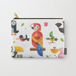 Birds in geometry Carry-All Pouch