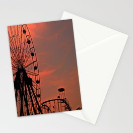 Sundown in Fun Town Stationery Cards