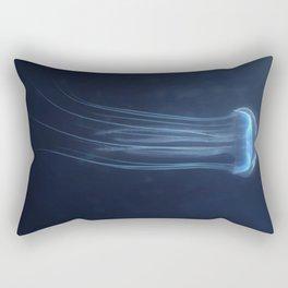 Deep Sea Jellyfish Rectangular Pillow