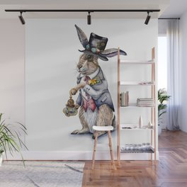 March Hare Wall Mural