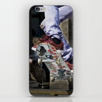 skate iPhone & iPod Skins featuring skate by ollily