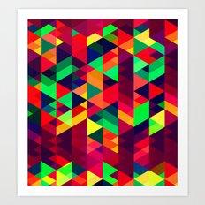 A DESERT STROLL 2.0 Art Print