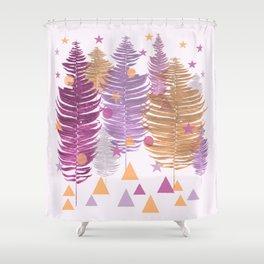 Christmas Trees #buyart #Christmas #Society6 Shower Curtain