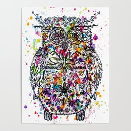 Owl Be Cool Poster
