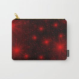 small red hearts and stars Carry-All Pouch