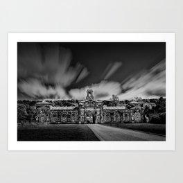Chatsworth stables Art Print