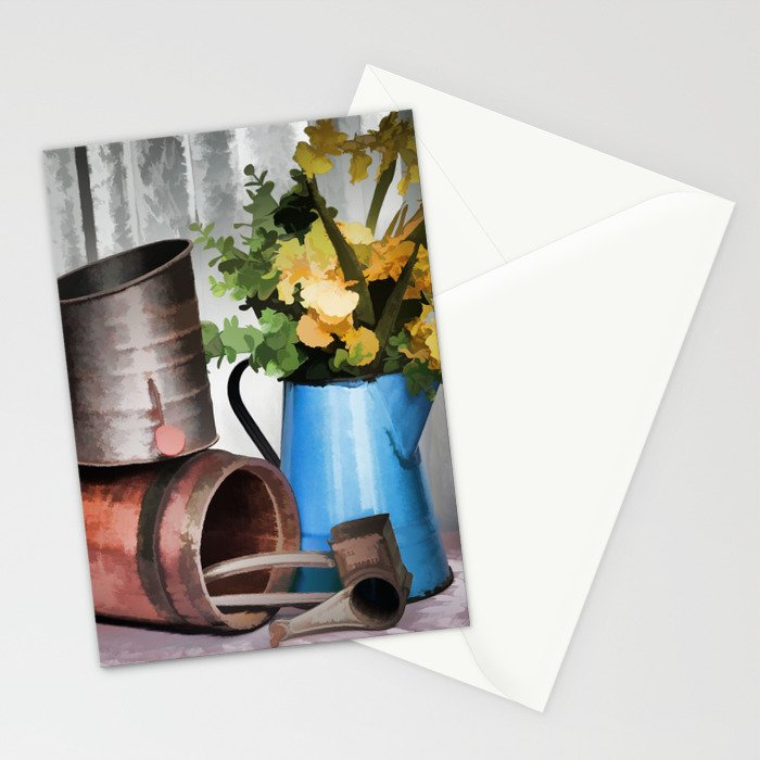 Looking To The Past Stationery Cards