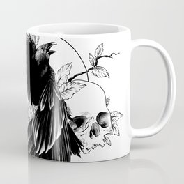 Bird and skulls Coffee Mug