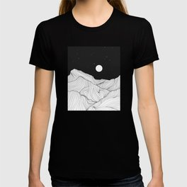 Lines in the mountains II T-shirt