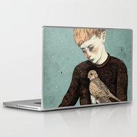 film Laptop & iPad Skins featuring Kes  by Sandra Dieckmann