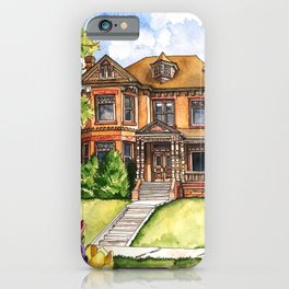 Queen Anne Mansion iPhone Case