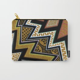 Intense Zig-zagging Carry-All Pouch