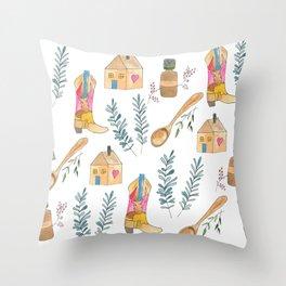 blog life Throw Pillow