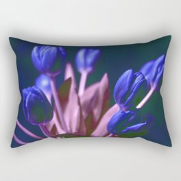 BLUE TULIPS Rectangular Pillow