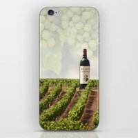 wine iPhone & iPod Skins featuring Wine by Gouzelka