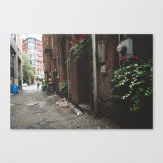 Beautiful Dark Alley Canvas Print