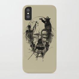 Dead Walker iPhone Case