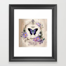 Shine like the universe is yours Framed Art Print