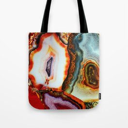 Agate, the Layers of our Earth Tote Bag